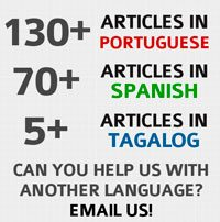Over 200 articles in Portuguese, Spanish, Tagalog by David Rives.