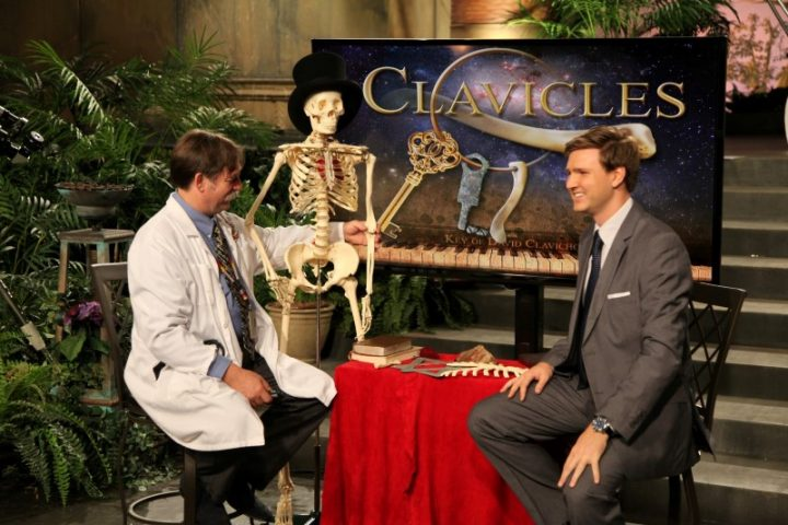 """Creation in the 21st Century"" episode: ""Holy Bones"" with guest Dr. Chuck Thurston of ""Science and Wonders"""