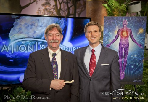 """Creation in the 21st Century"" episode: ""Body Codes – Throne Rooms Walking"" with guest Dr. Chuck Thurston of ""Science and Wonders"""