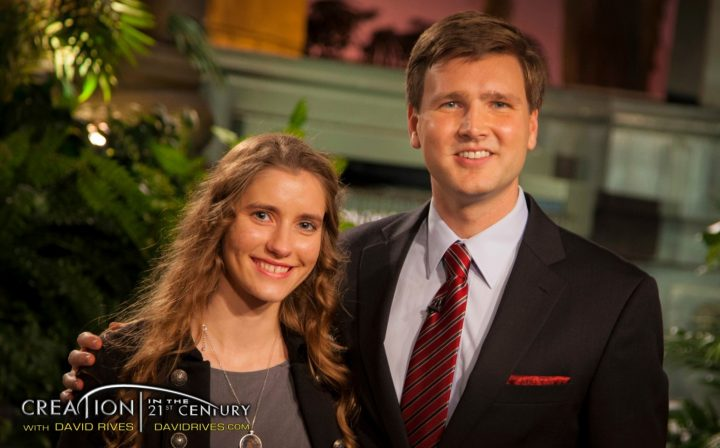 "David Rives presents ""Dinosaurs & The Global Flood"" with special guest, Sara Bruegel on TBN"
