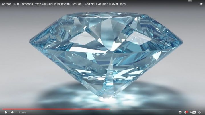 Carbon-14 In Diamonds – Why You Should Believe In Creation …And Not Evolution | David Rives