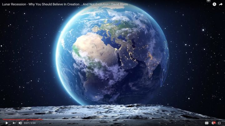 Lunar Recession – Why You Should Believe In Creation …And Not Evolution | David Rives