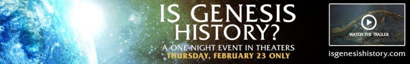 Is Genesis History?