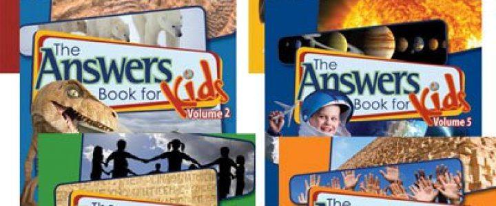 The Answers Book For Kids, Vol. 1-6 Complete Set
