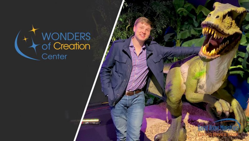 David Rives at Wonders of Creation Center