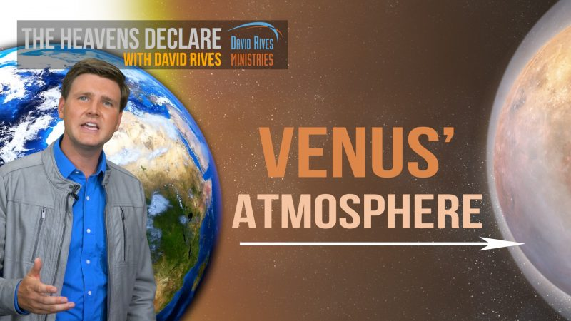 Venus' Thick Atmosphere