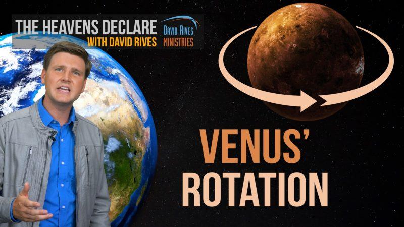 The Weird Rotation of the Planet Venus | David Rives