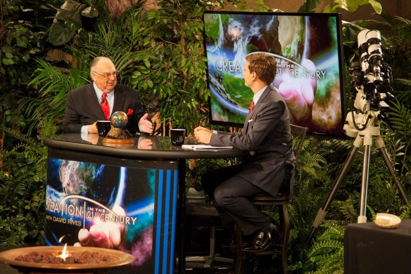 Dr. Henry Morris sits down on David Rives TV show, Creation in the 21st Century